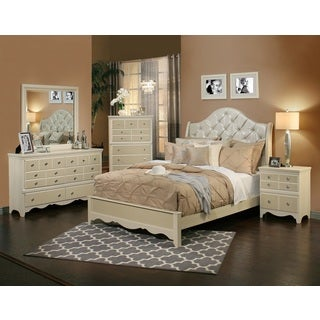 Sandberg Furniture Marilyn 4-Piece Bedroom Set
