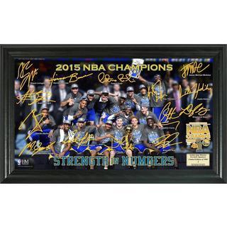 Golden State Warriors 2015 NBA Finals Champions Celebration Signature Court