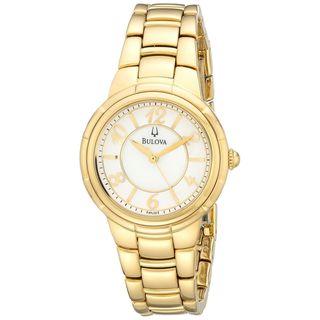 Bulova Women's 97L131 Gold-Tone Stainless Steel Watch
