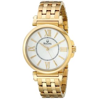 Bulova Women's 97L133 Gold-Tone Stainless Steel Watch