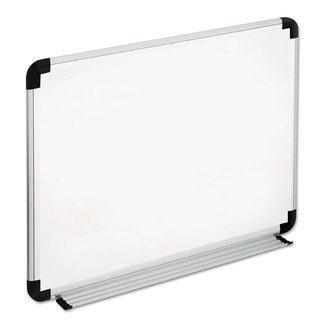 Universal White, Black/Gray Dry Erase Board