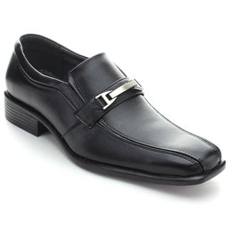 Roucs Wh-03 Men's Classic Business Low Heel Slip On Oxfords