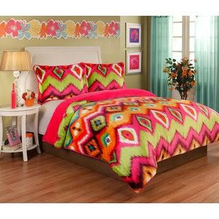 Gypsy Velvet Plush 3-piece Comforter Set