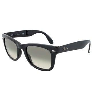 Ray-Ban RB 4105 601/32 Folding Wayfarer Sunglasses - Black Frame