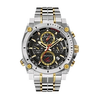Bulova Men's 98B228 Stainless Steel Presisionist Chrnographl Watch