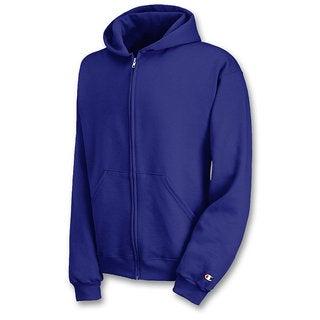 Champion Youth Double Dry Action Fleece Full Zip Hood