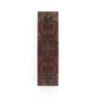 Teton Home 2 WD-021 Wood and Metal Wall Décor