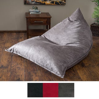 Christopher Knight Home Kinsley Faux Suede 6-foot Lounge Beanbag Chair