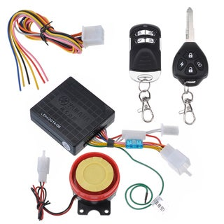 Patuoxun Motorcycle Anti-theft Alarm with Remote Engine Start