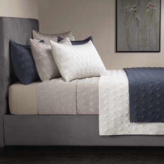 Grove Hill Ink 3-piece Coverlet Set