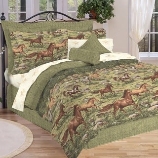 Wild Horses 8-Piece Bed in a Bag Set