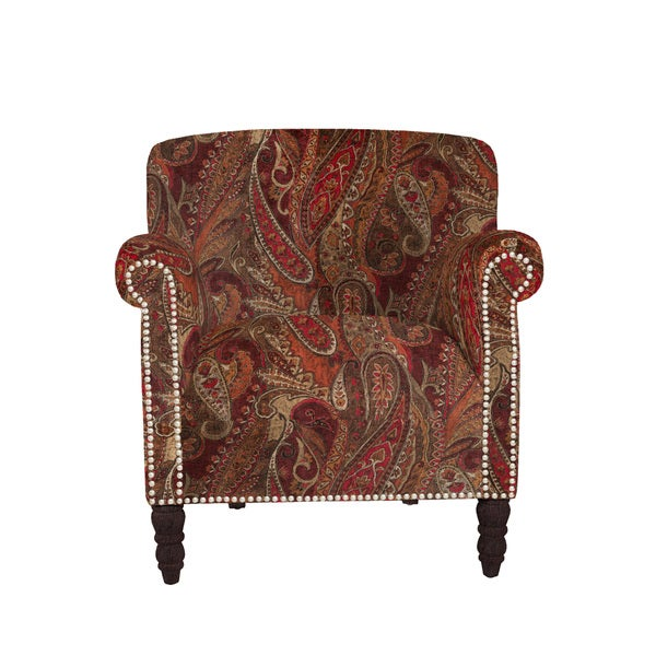 angeloHOME Carissa Soft Velvety Paisley Red Wine Arm  : angelo HOME Carissa Soft Velvety Paisley Red Wine Arm Chair 67bcc5fa 87db 4e07 a89a df029decd91d600 from www.overstock.com size 600 x 600 jpeg 121kB