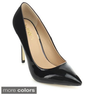 Mixx Shuz Kayla-02 Women's Classic Occupational Closed Pointed Toe Dress Pumps