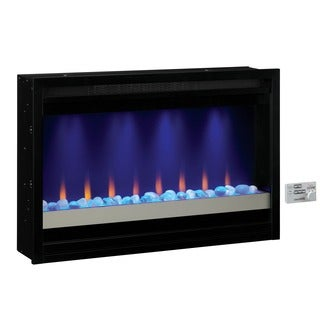 Contemporary Built-in 36-inch Fireplace