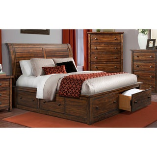 furniture of america york storage platform bed