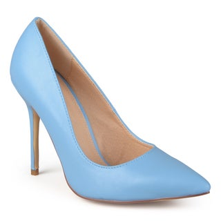 Journee Collection Women's 'Stock' Classic Pointed Toe Pumps