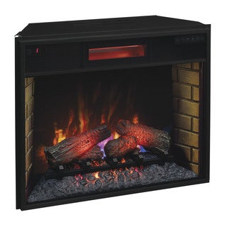 Infrared Electric 28 inch Fireplace Insert