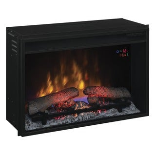Electric 26-inch Fireplace Insert with Remote
