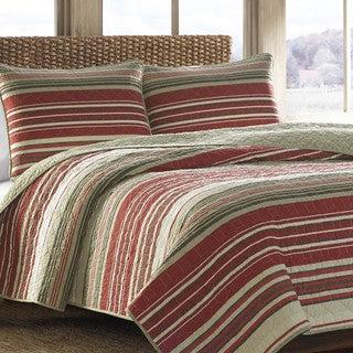 Eddie Bauer Yakima Valley Red 3-piece Quilt Set