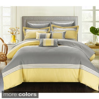 Chic Home Falconia Hotel Collection 10-piece Bed In a Bag with Sheet Set