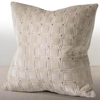 MERIDIAN Feather and Down 20-inch Throw Pillow