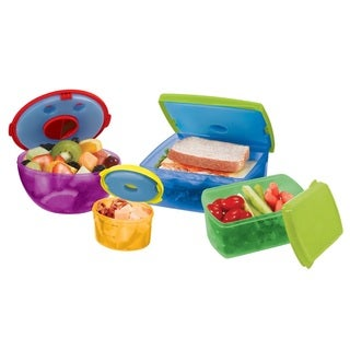 Two Elephants 13-piece Healthy Lunch Containers with Ice Packs