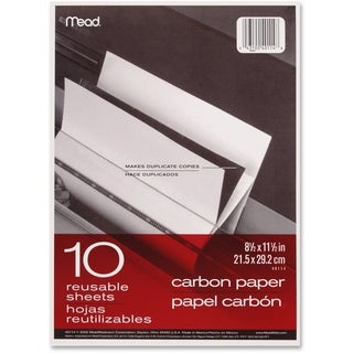 Mead Reusable Carbon Paper - 10 Sheets