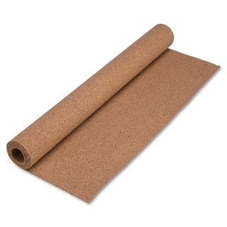 "Lorell 48""H x 24"" W Natural Cork Roll"