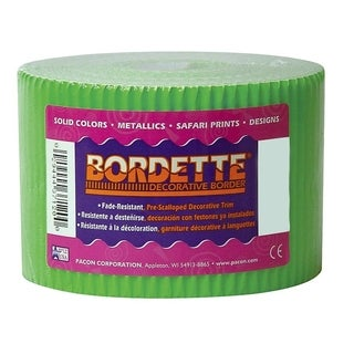 Pacon Bordette ScallopedDecorative Border - 1/RL