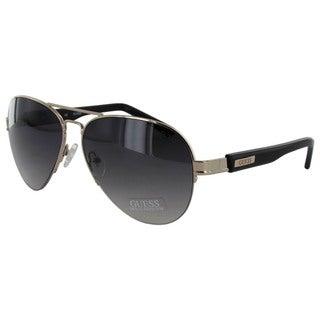 Guess Mens 6799 Aviator Sunglasses