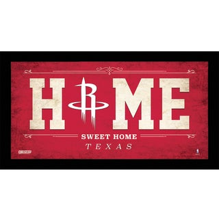 Houston Rockets 10x20 Home Sweet Home Sign