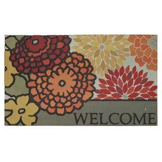 """Mohawk Home Modern Bouquet Spice Doormat (18""""x30"""")"""