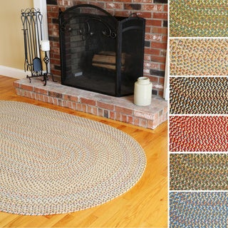 Cozy Cove Indoor/Outdoor Oval Braided Rug (5' x 8')
