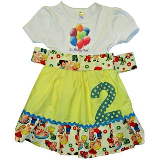 Ice Cream Birthday Dress 1st,2nd,3rd,4th by Just Girls