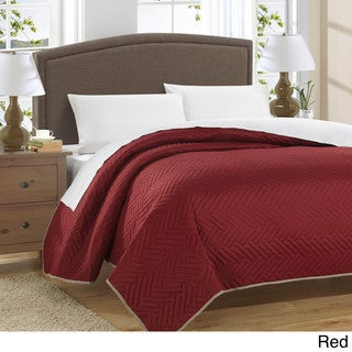 Chic Home Marian Blocks Mellorica Reversible 5-Piece Quilt And Sheet Set