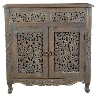 Carver Antique 2-drawer 2-door Buffet