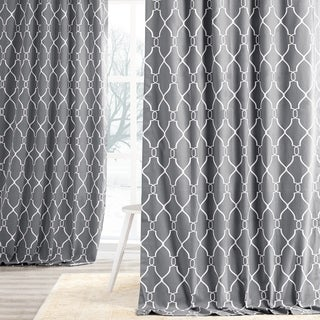 Aiden Printed Cotton Curtain Panel