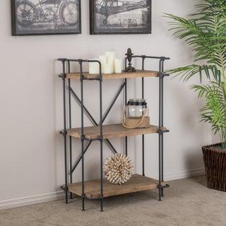 Christopher Knight Home Yorktown 3-Shelf Industrial Bookcase