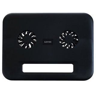 Compact USB Dual Laptop Cooling Pad by Kinyo