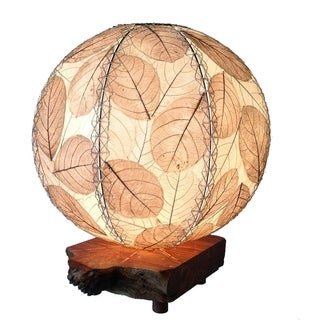 Eangee Driftwood Natural Orb Table Lamp (Philippines)