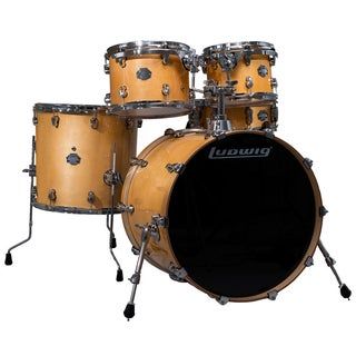 Ludwig Element Birch Pop 5-piece Rooftop Natural Shell Pack