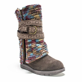 Muk Luks Women's Dark Brown Nikki Boot