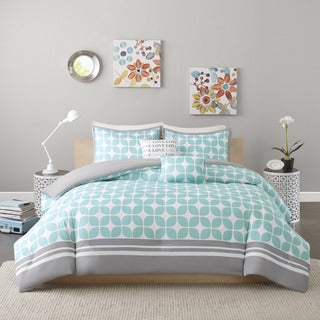 Intelligent Design London 5-piece Duvet Cover Set