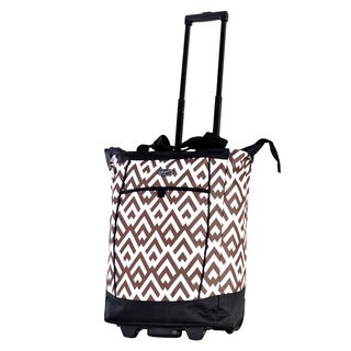 Olympia Hills Fashion Rolling Shopper Tote
