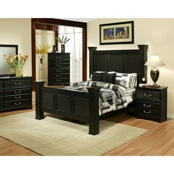 Sandberg Furniture Granada Two Nightstand Bedroom Set