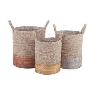 Dimond Home Mixed Metallics Nested Baskets