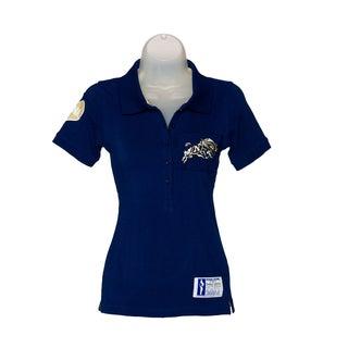 NCAA Navy Ladies Collar Scholar Polo