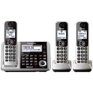 Panasonic KX-TGF373S DECT 6.0 3-handset Landline Telephone (Refurbished)