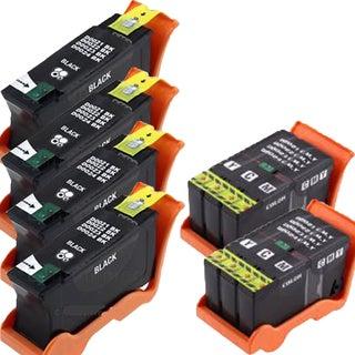 T093N BlacK T094N ColorCompatible Inkjet Cartridge For V313 V313W V515W V715W P513W P713W (Pack of 6)
