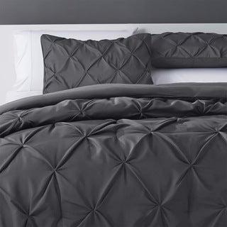 Pinch Pleat 4-Piece Comforter Set
